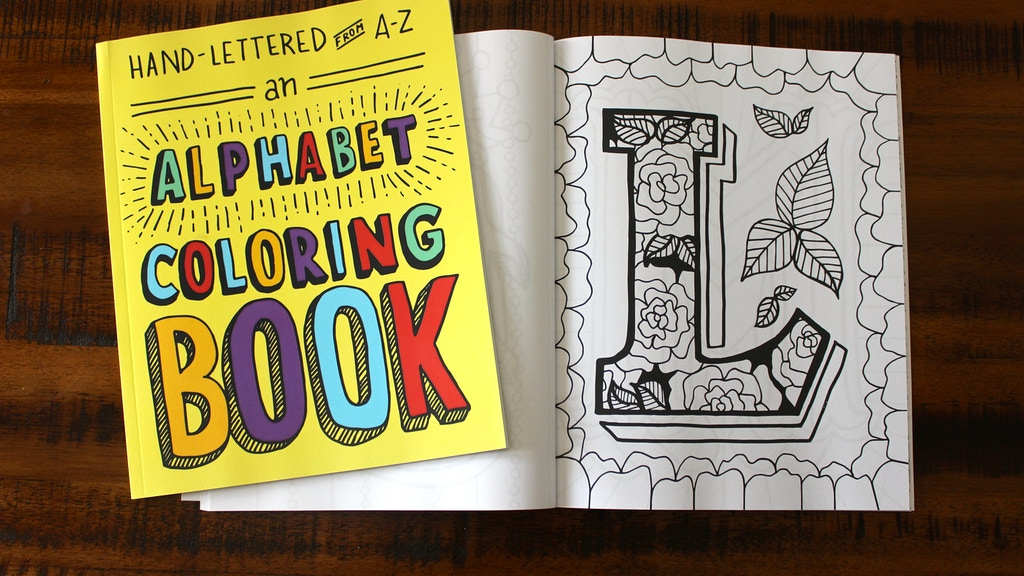 Hand-Lettered from A to Z: An Alphabet Coloring Book project video thumbnail