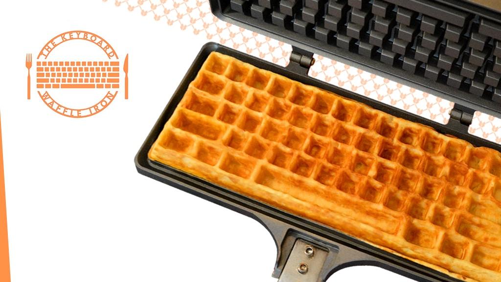 The Keyboard Waffle Iron project video thumbnail