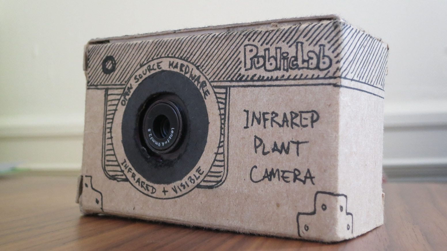 A simple, cheap infrared camera which can measure plant health -- for geek gardeners, farmers, and open source DIY scientists.