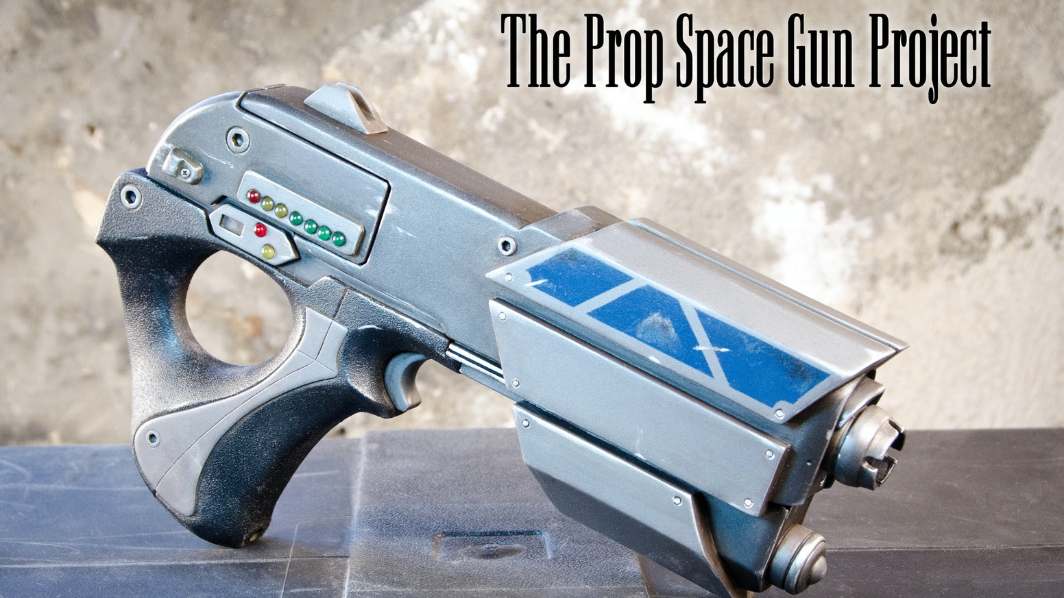 The prop space gun project by bill doran kickstarter a completely new original design from prop maker bill doran created for diy makers costumers and collectors alike solutioingenieria Image collections
