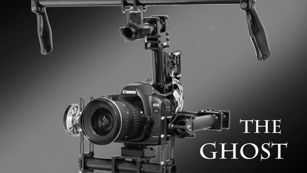 The Ghost - DSLR/Video Camera Stabilizer project video thumbnail