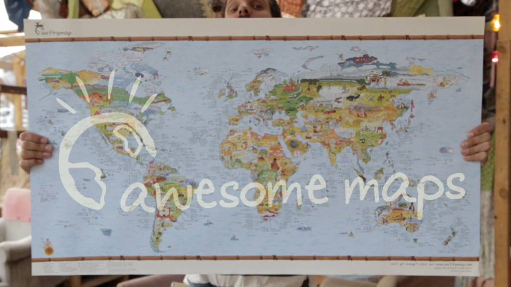 Bucketlistmap: Putting the Awesome Back in Maps project video thumbnail