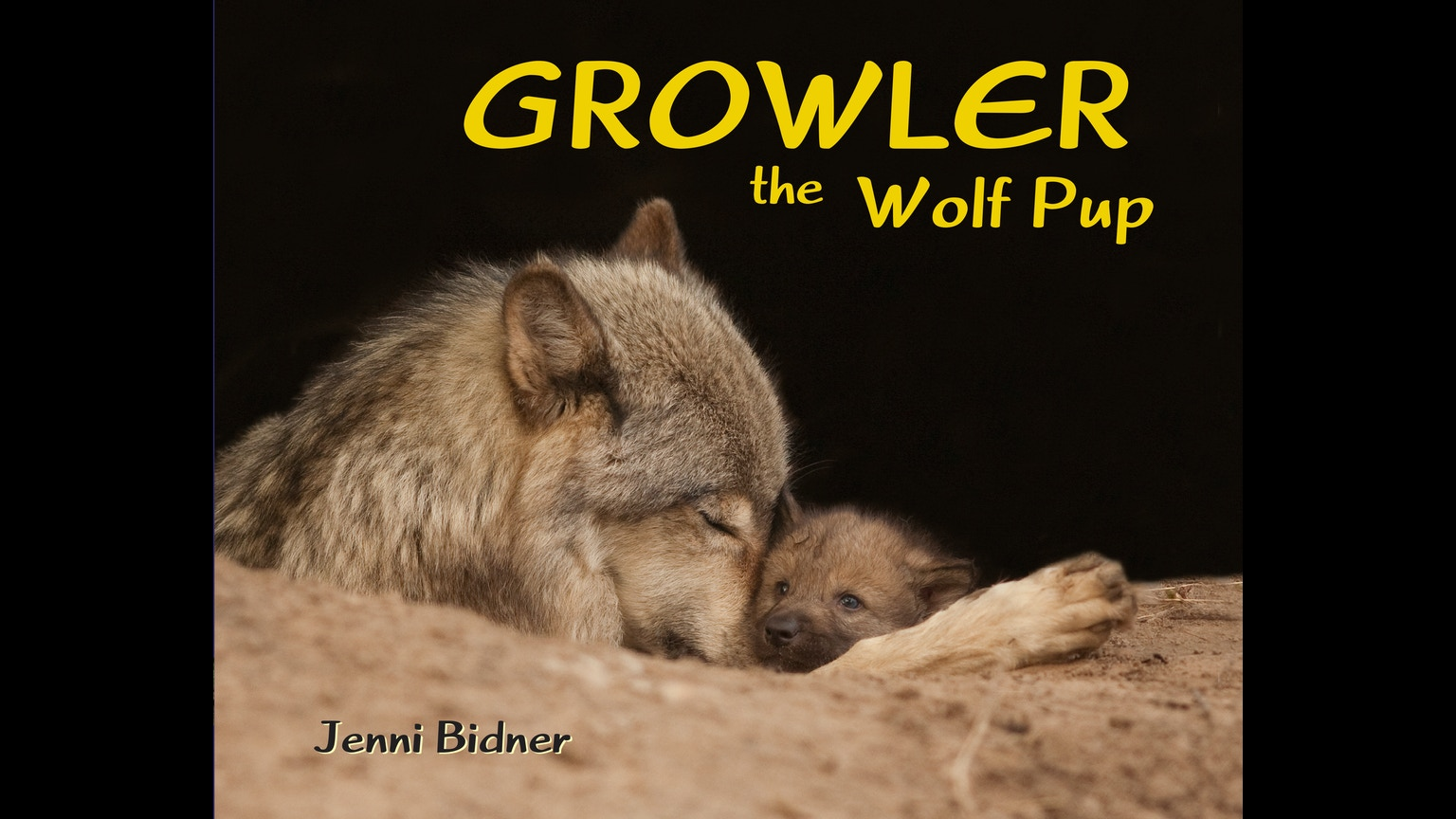 Growler the wolf pup a children 39 s book in photos rhymes for Jenni wolf