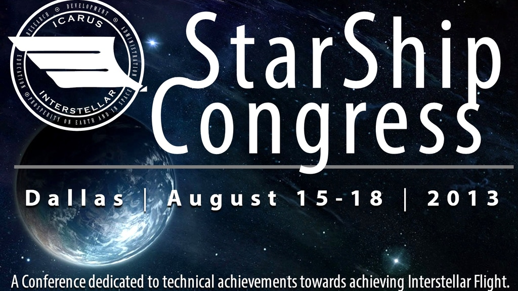 Icarus Interstellar - Starship Congress 2013 Summit project video thumbnail