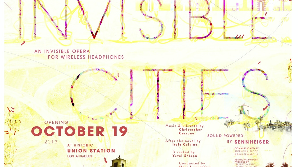 Invisible Cities: an invisible opera at Union Station project video thumbnail