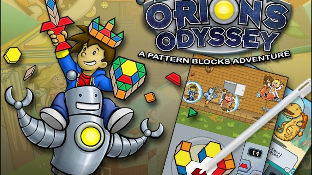 Orion's Odyssey for Nintendo eShop & DSiWare project video thumbnail