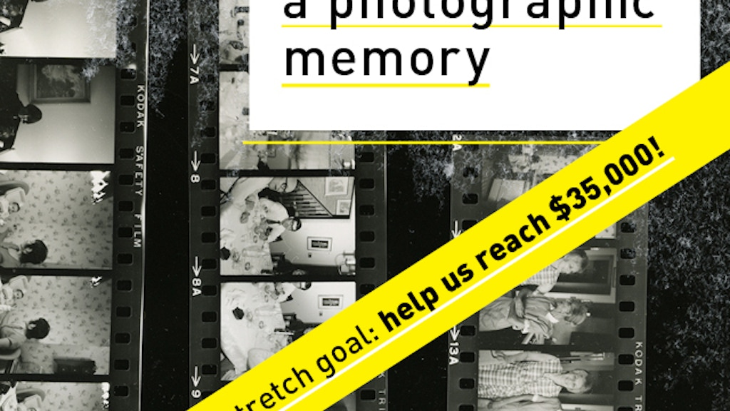 A Photographic Memory project video thumbnail