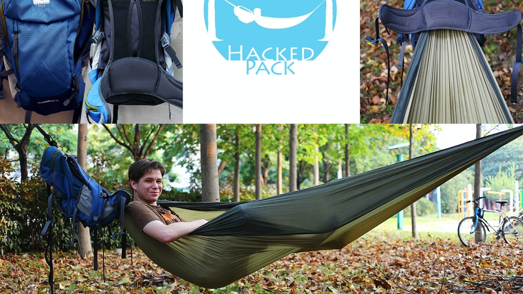 HackedPack: The Hammock-Backpack project video thumbnail