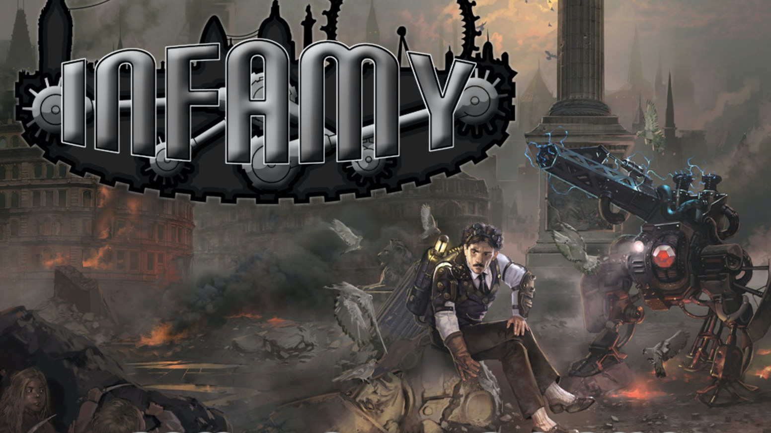 An action-packed skirmish game and range of steampunk miniatures. Join the revolution and battle across an alternate Victorian London!