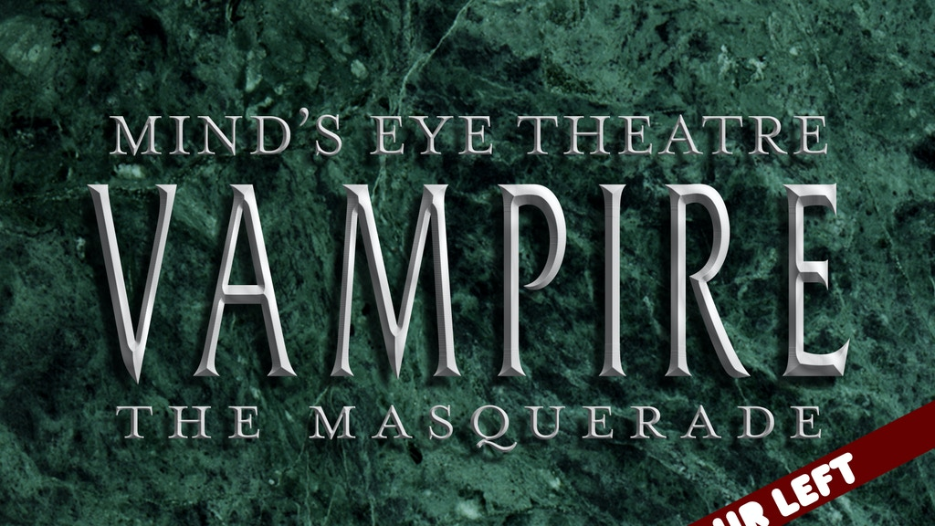 Mind's Eye Theatre: Vampire The Masquerade project video thumbnail