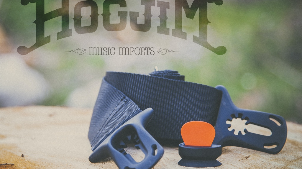 Hogjim: Music Imports - Innovative Guitar Accessories project video thumbnail