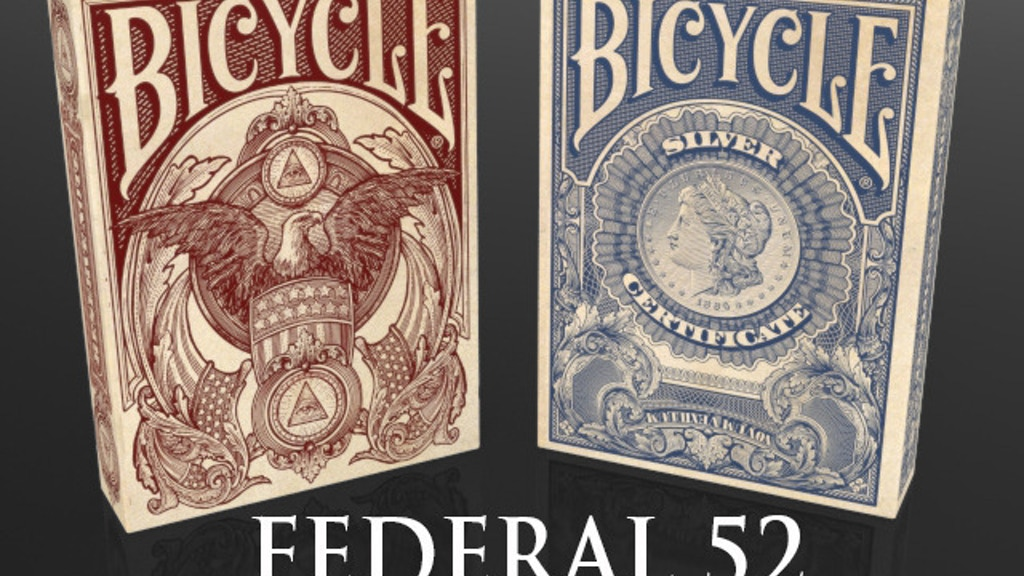 Federal 52 Part 2 -  A NEW Bicycle Playing Card Deck. project video thumbnail