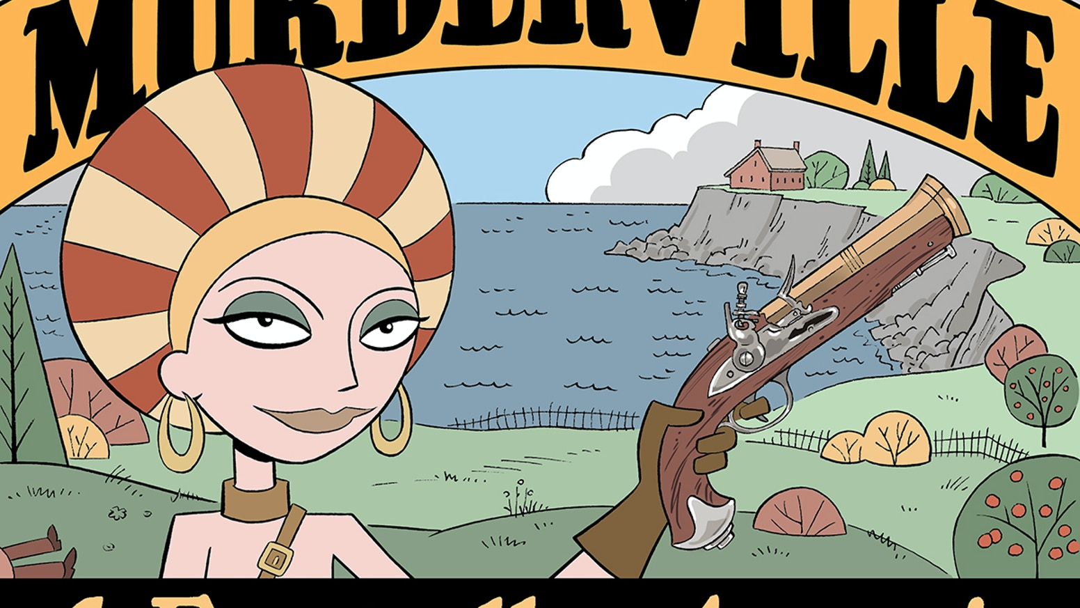 Murderville Comic Book 1 A Farewell To Armories By Carol Lay