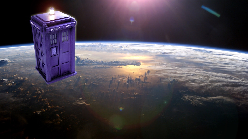 We're putting a TARDIS into orbit - Really! project video thumbnail