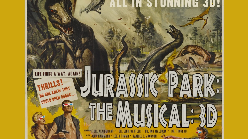Jurassic Park: The Musical: 3D project video thumbnail