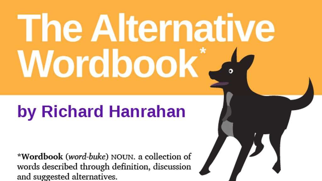 The Alternative Wordbook project video thumbnail