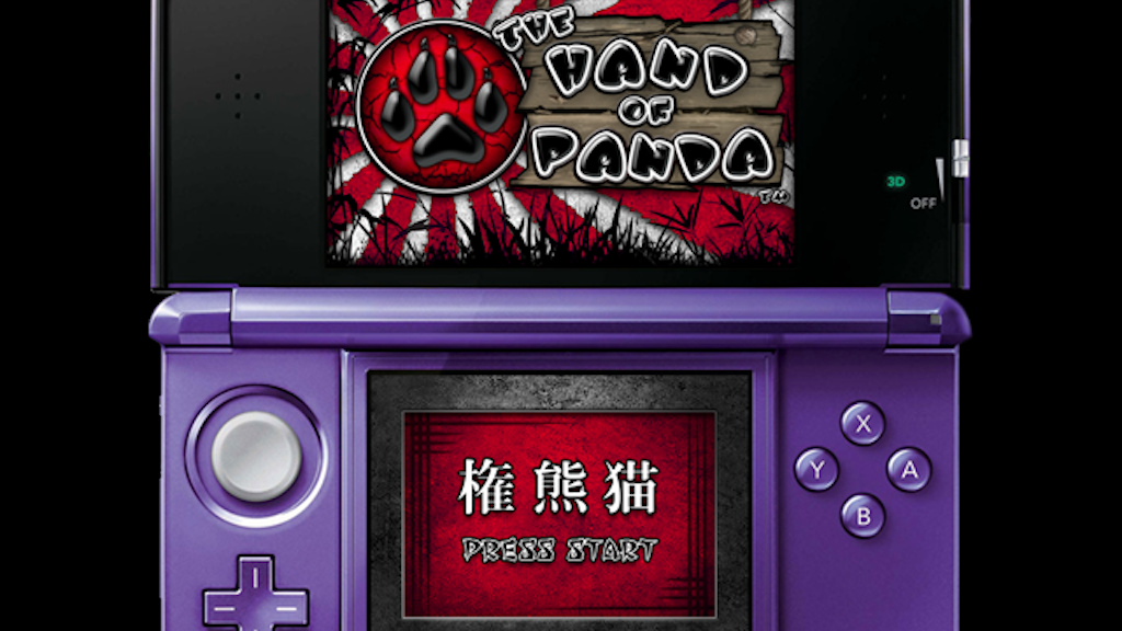 The Hand of Panda: A new game. 1st up, the Nintendo 3DS. project video thumbnail