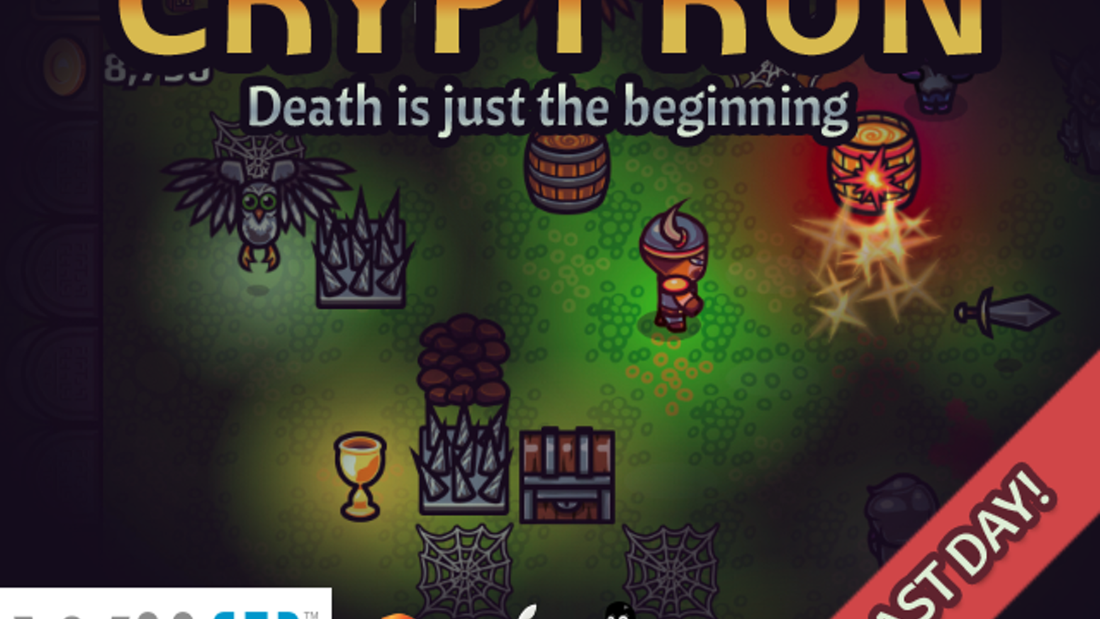 A twin-stick shooter roguelike that isn't over when you die.