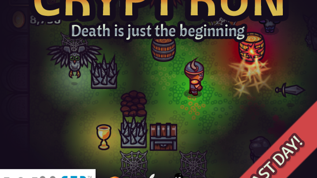 Crypt Run: Death is just the beginning (Wii U/PC/Mac/Linux) project video thumbnail