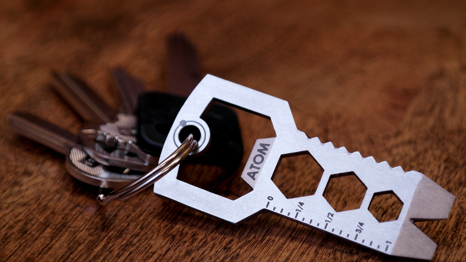 The key shaped multitool that puts a tool box in your pocket.