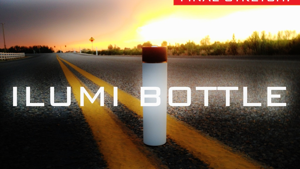 ILUMI Smartbottle: The new way to keep hydrated. project video thumbnail