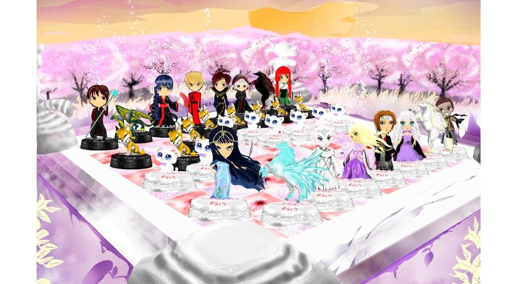 Project image for Rojikku - Samurai Anime Chess (Canceled)