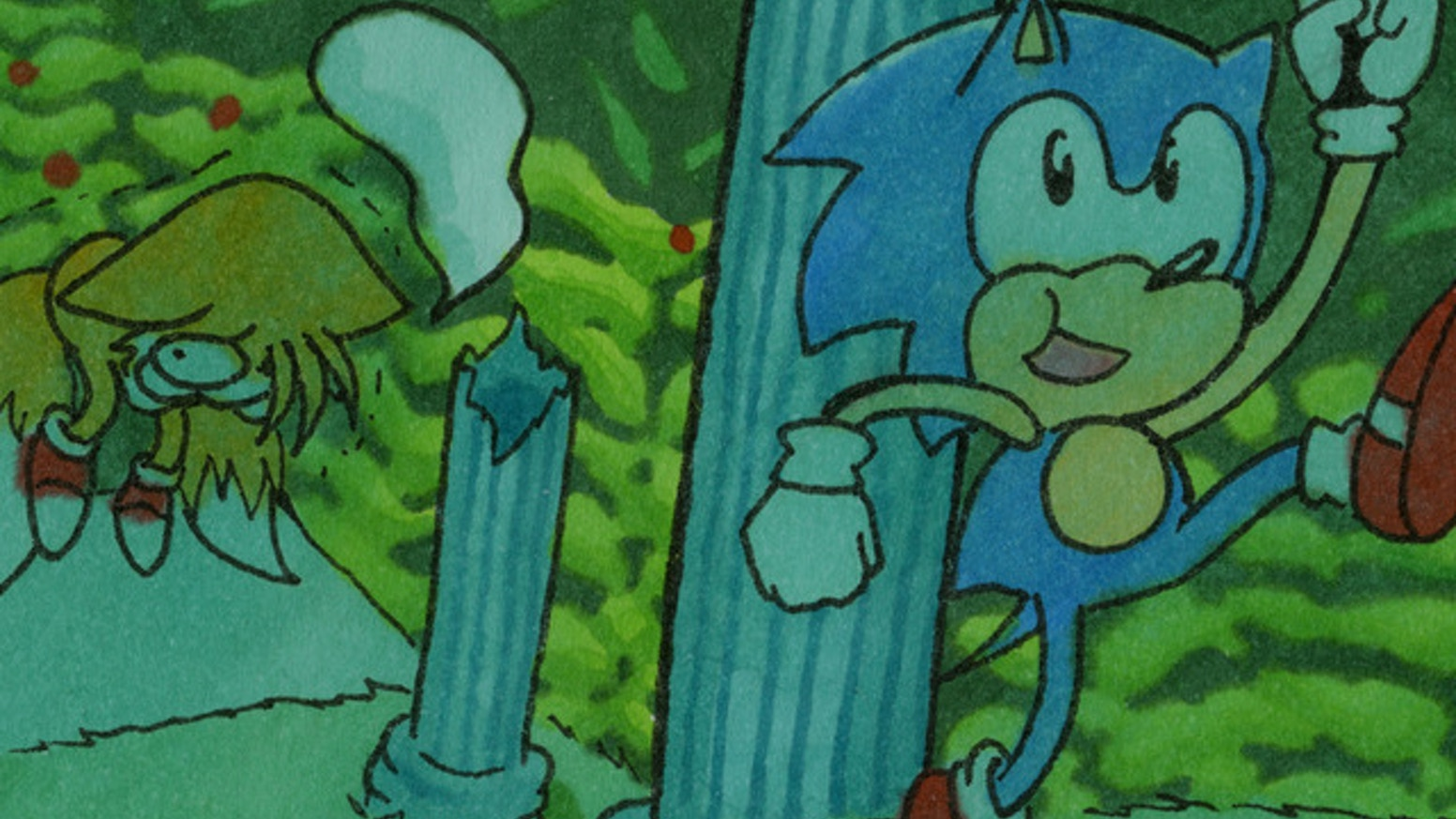 Not Enough Rings A Sonic The Hedgehog Parody Comic By Veronica Vera Up Over And Gone Kickstarter