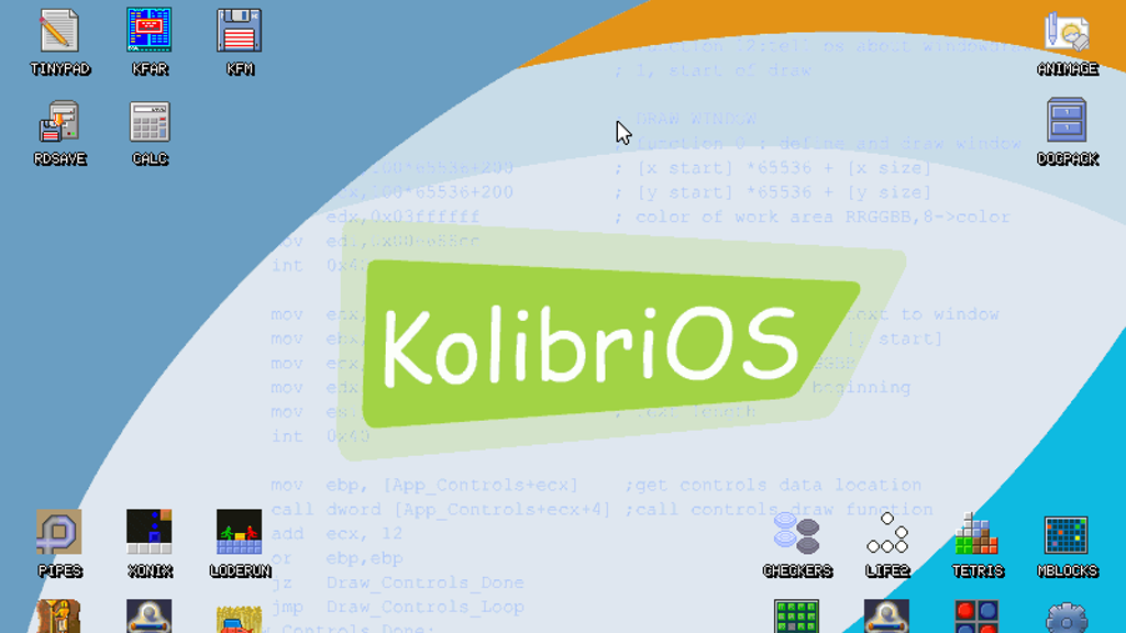 KolibriOS: Help us hold our own Summer of Code 2013 project video thumbnail