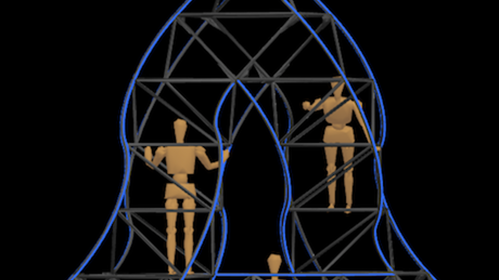 The Penrose Triangle at Burning Man 2013 project video thumbnail