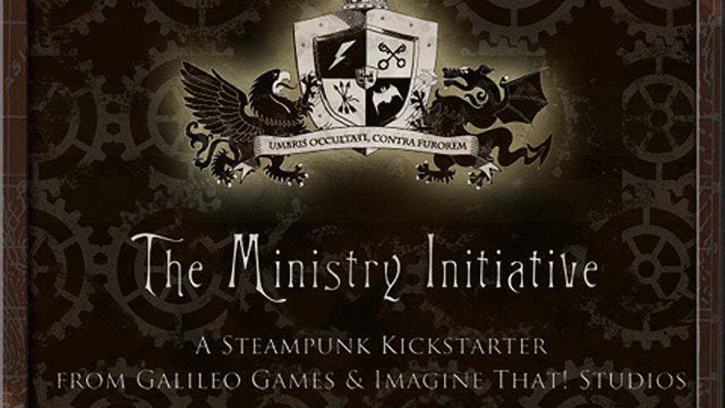 The Ministry Initiative - Steampunk Role-Playing & Fiction project video thumbnail