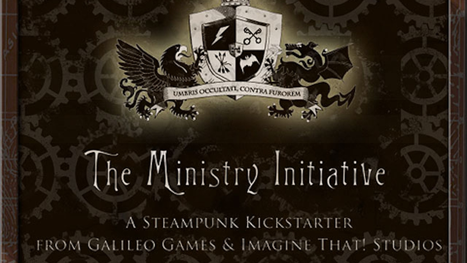 The Ministry Initiative - Steampunk Role-Playing & Fiction