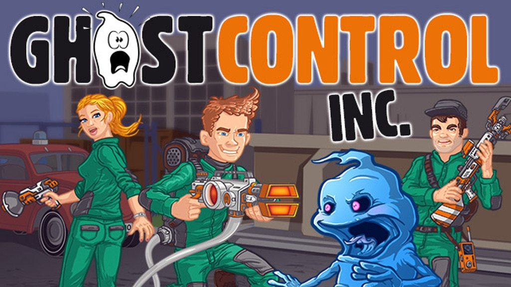 GhostControl Inc. – A hilarious ghost-hunting simulation project video thumbnail
