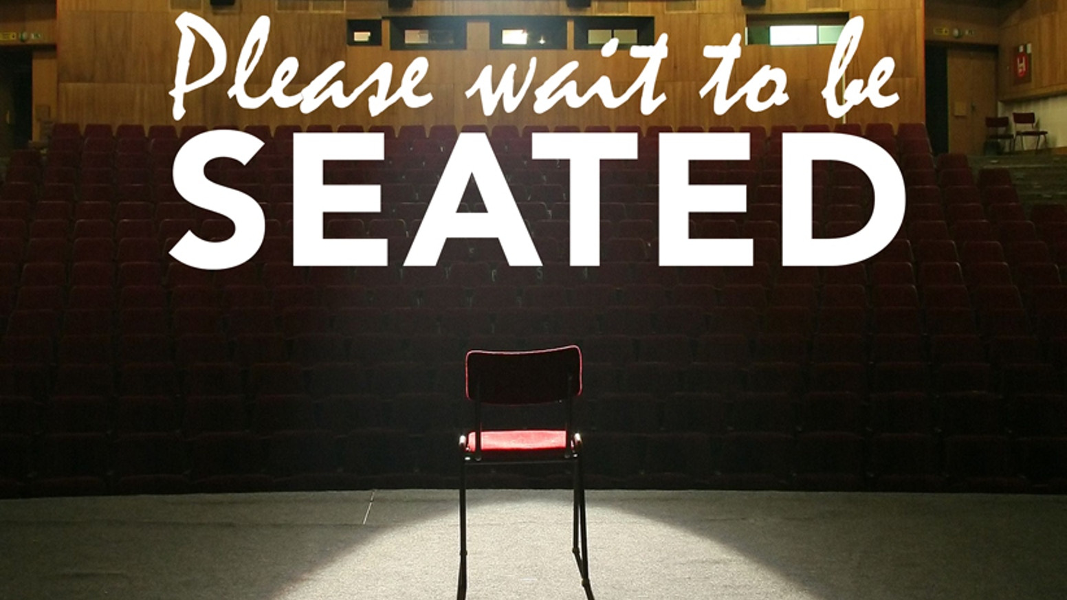 Please Wait To Be Seated By Broken Toaster Films Kickstarter
