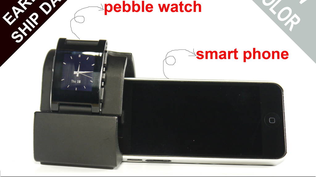 FIRSTSTAND FOR PEBBLE WATCH AND MORE.. project video thumbnail