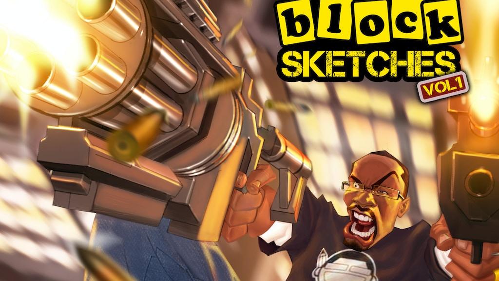 Cartoon Block Sketches Vol. 1: The Art of Evan Burse project video thumbnail