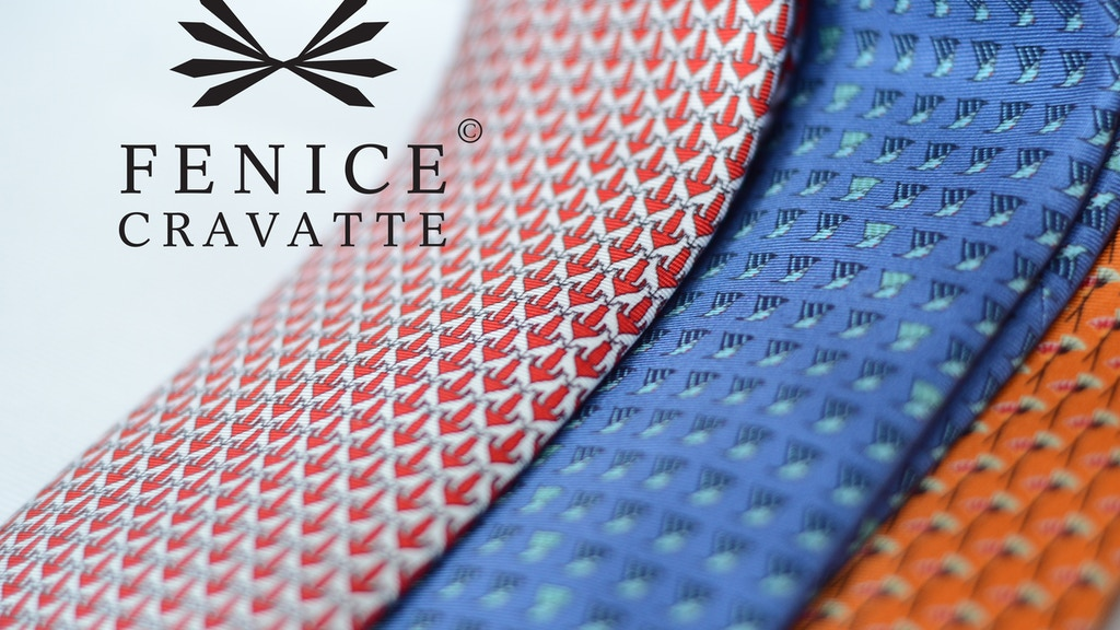 Fenice Cravatte - First silk tie collection - Made in Italy project video thumbnail