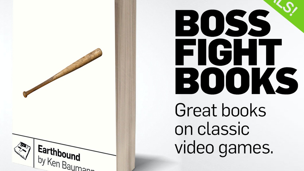 Boss Fight Books project video thumbnail