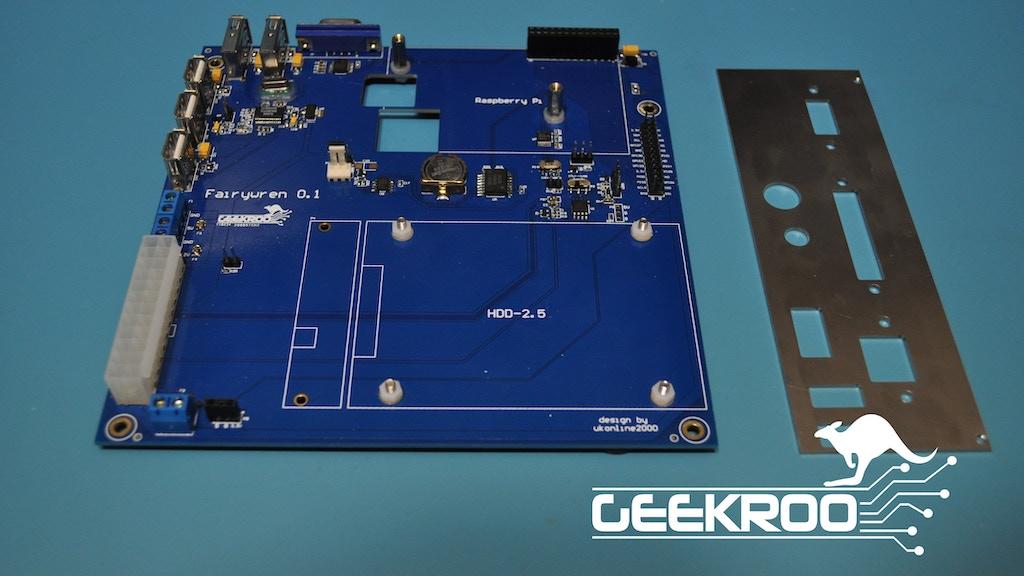 Mini-ITX Motherboard for the Raspberry Pi - Fairywren project video thumbnail