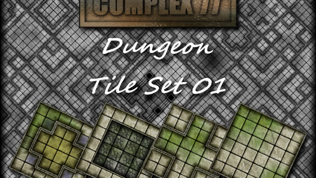 Project image for Dungeon Tile Set 01