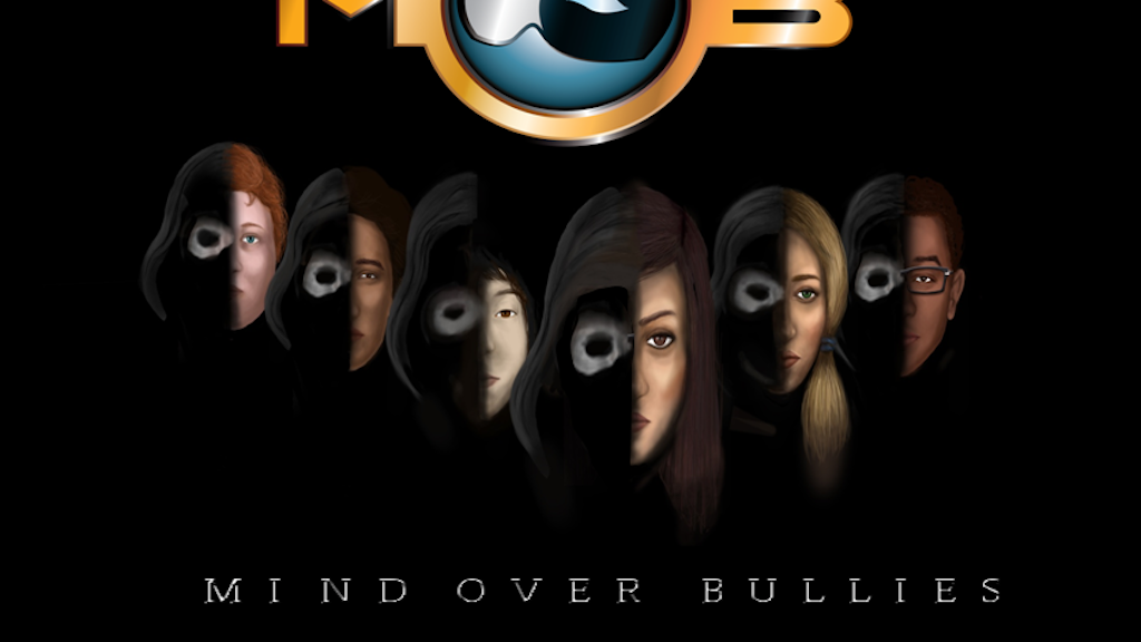 Project image for Mind Over Bullies (MOB) Anti-Bullying Comic Series