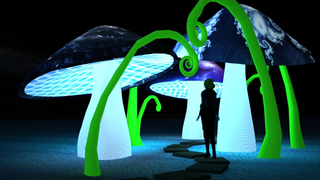 Cosmic Oasis, a Burning Man Art Installation & Healing Space project video thumbnail