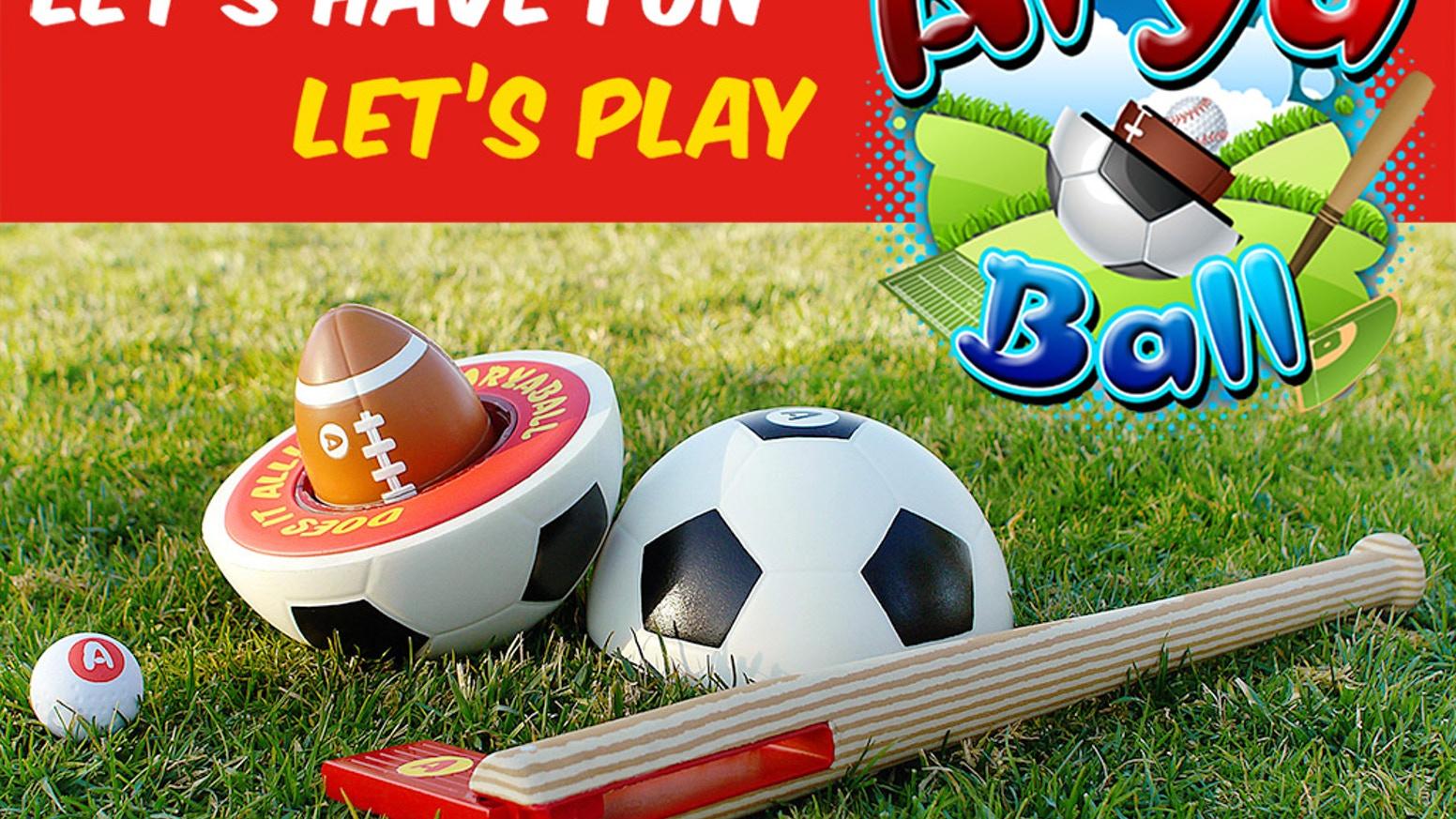 0b21d7a3b97 AryaBall  Play 5 Sports with World s Most Fun Ball and Bat by Babak ...