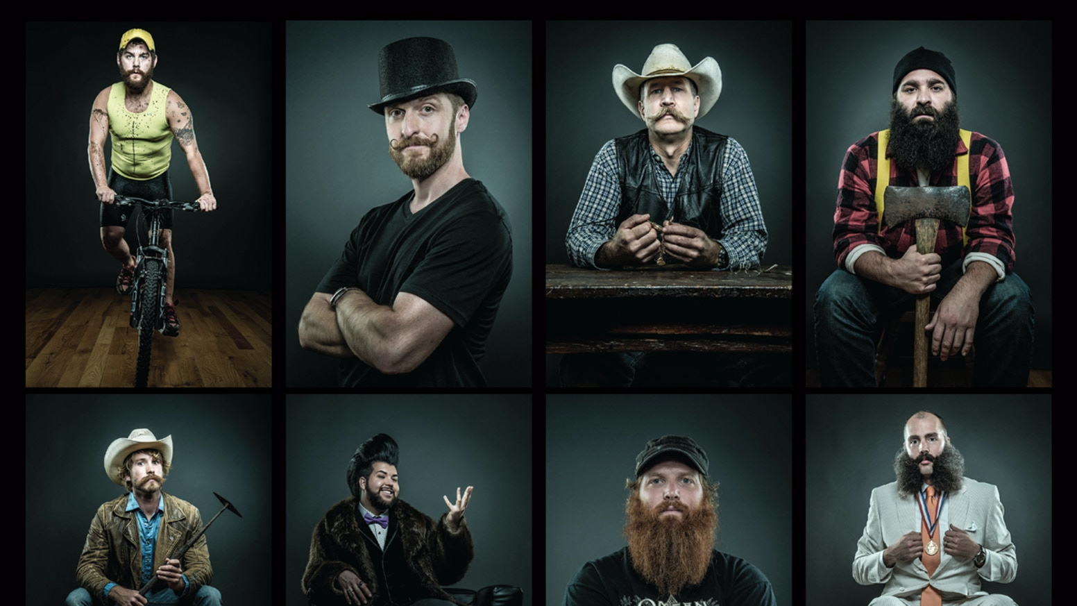 Of Beards and Men: A Portrait of Man by Joseph D R  OLeary