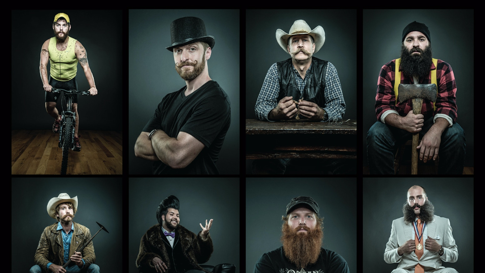 Photographer Joseph D.R. OLeary created portraits of 150+ bearded men for an exquisite, limited-edition, coffee table book.