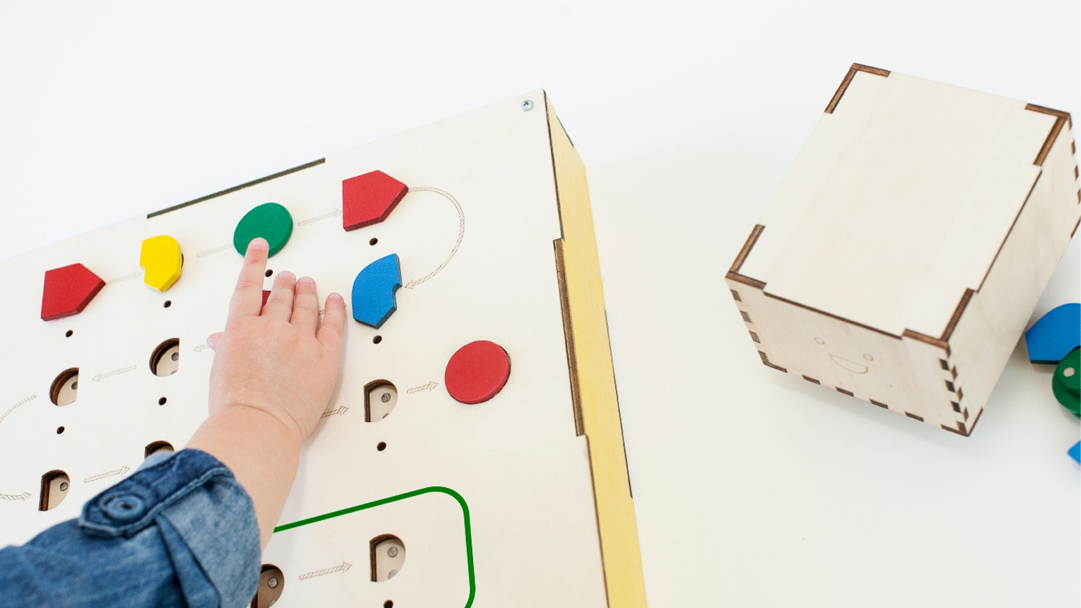 We're making coding tangible for children ages 3 and up.