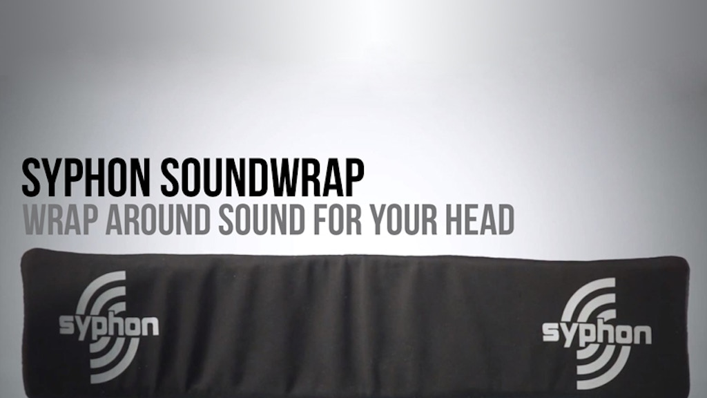 Syphon Soundwrap - Wrap Around Sound for Your Head project video thumbnail