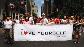 The Love Yourself Project at NYC Gay Pride Parade 2013