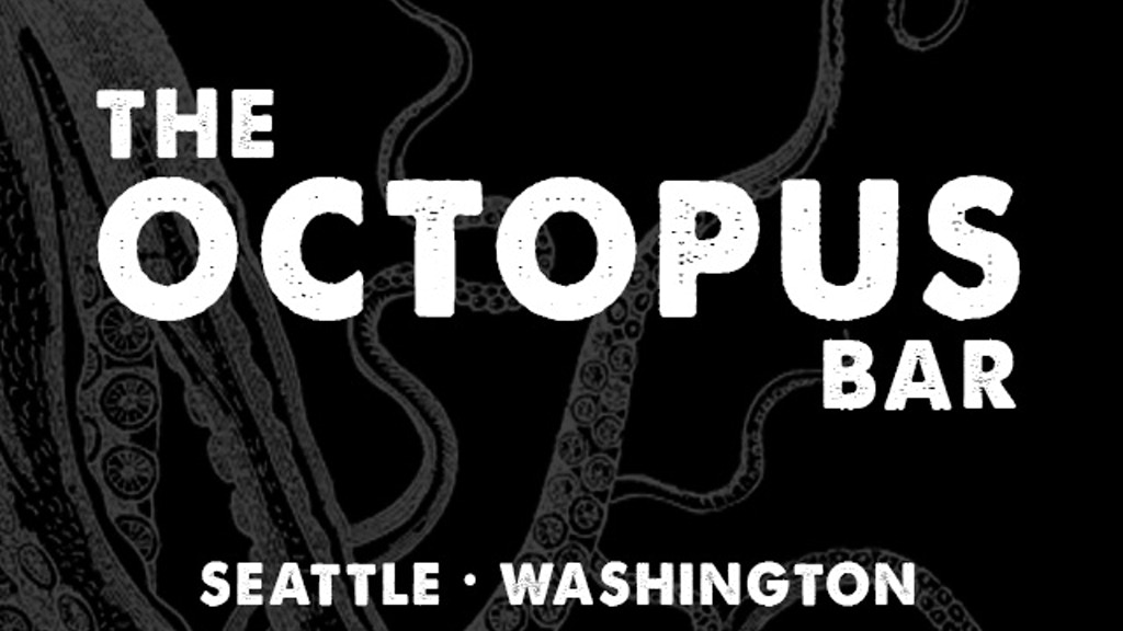 The Octopus Bar opening in Seattle this Fall 2013! project video thumbnail