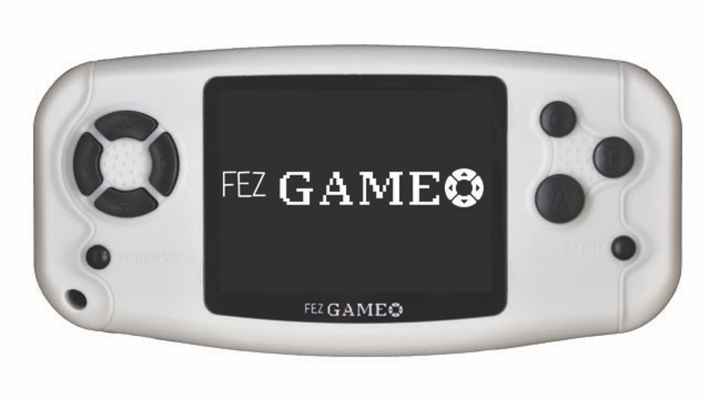 Open-source programmable hand-held console, FEZ Game-O project video thumbnail
