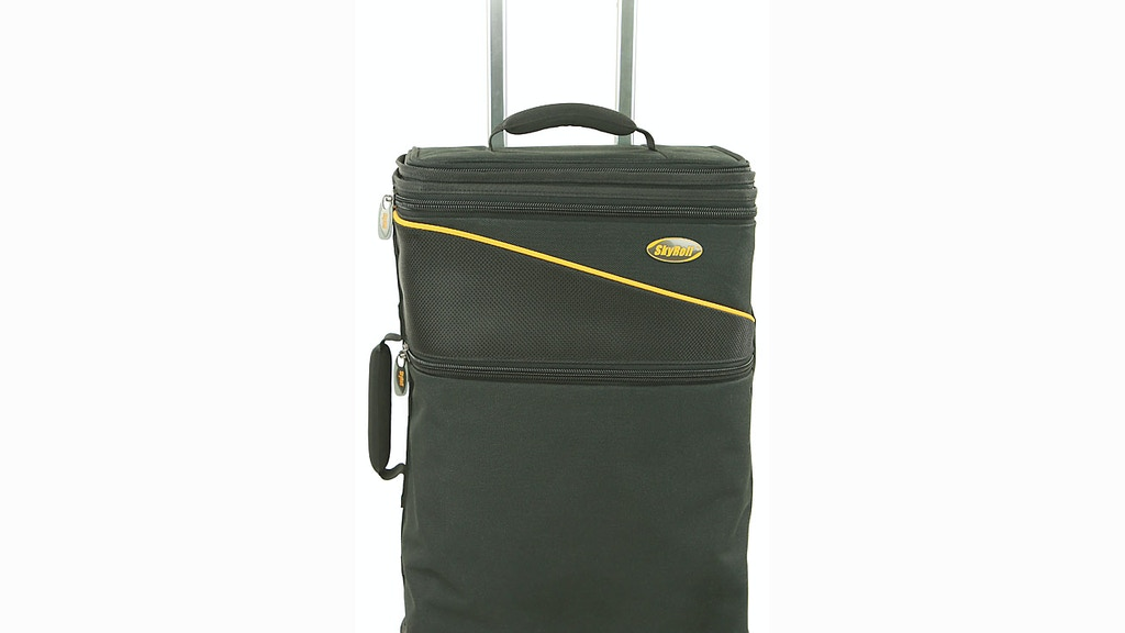 SkyRoll Spinner: Suitcase, Garment Bag, & Laptop Bag in One project video thumbnail